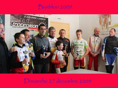 Biathlon 2009 : les récompensés