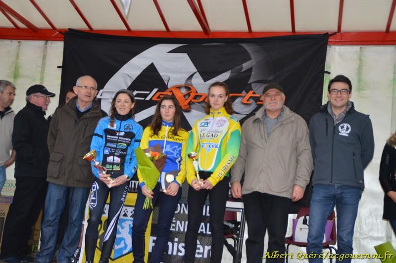 Dames Cyclocross Gouesnou 2015