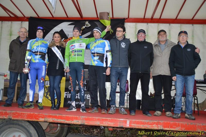 Seniors Espoirs Cyclocross Gouesnou 2015