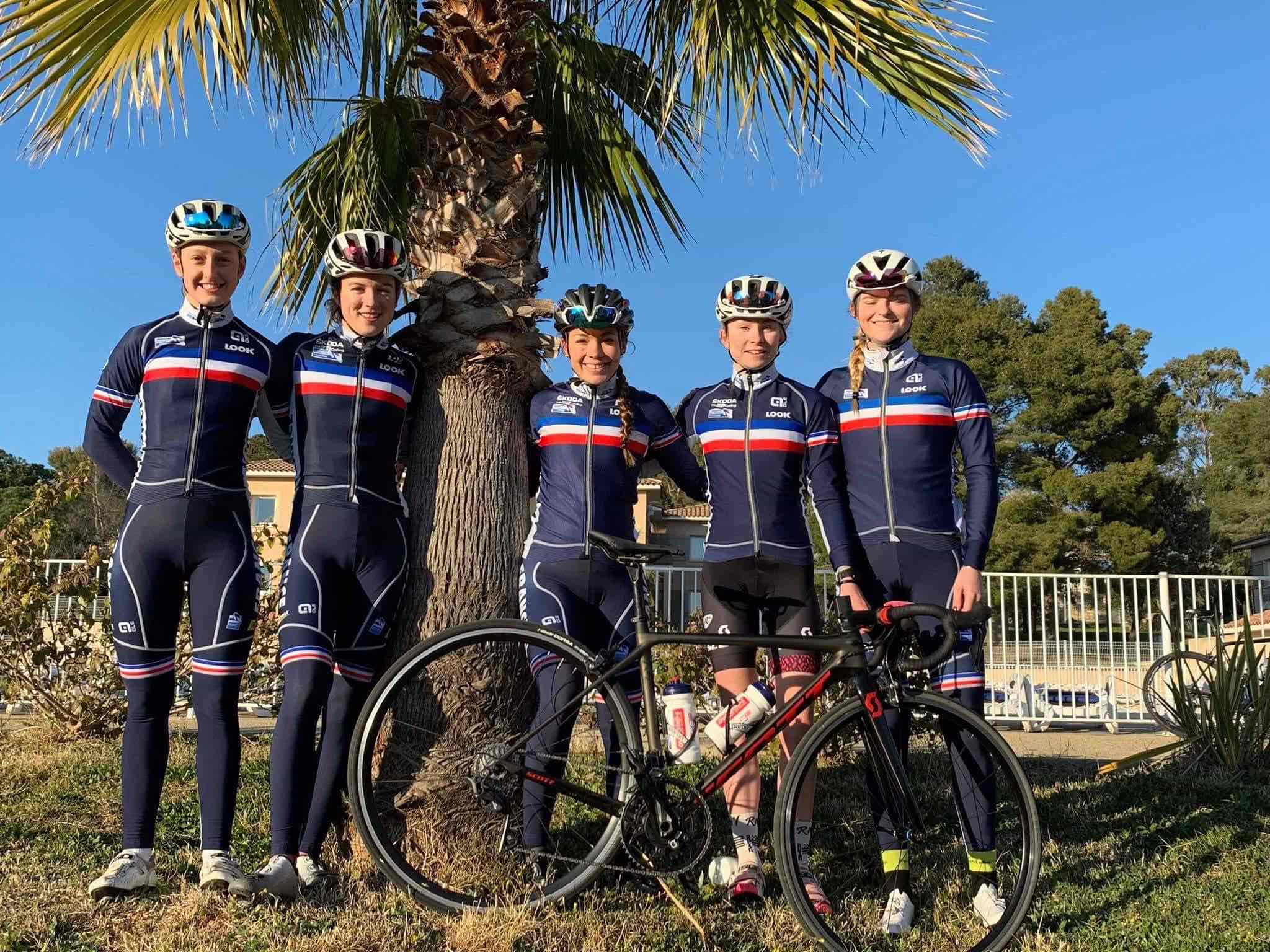 Equipe juniors fille france 2019