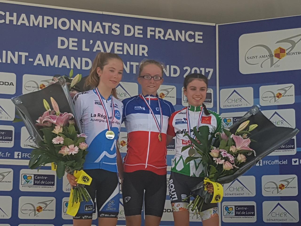 Maeva Championne de France 2017