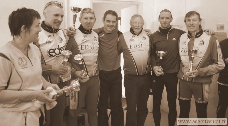Les récompensés du biathlon 2011