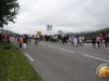 Beaucoup de spectateurs pour encourager les courageux cyclos