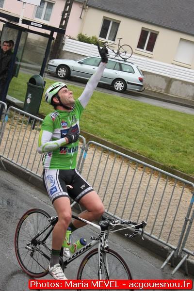 Nicolas LE COAT, vainqueur à Gouesnou
