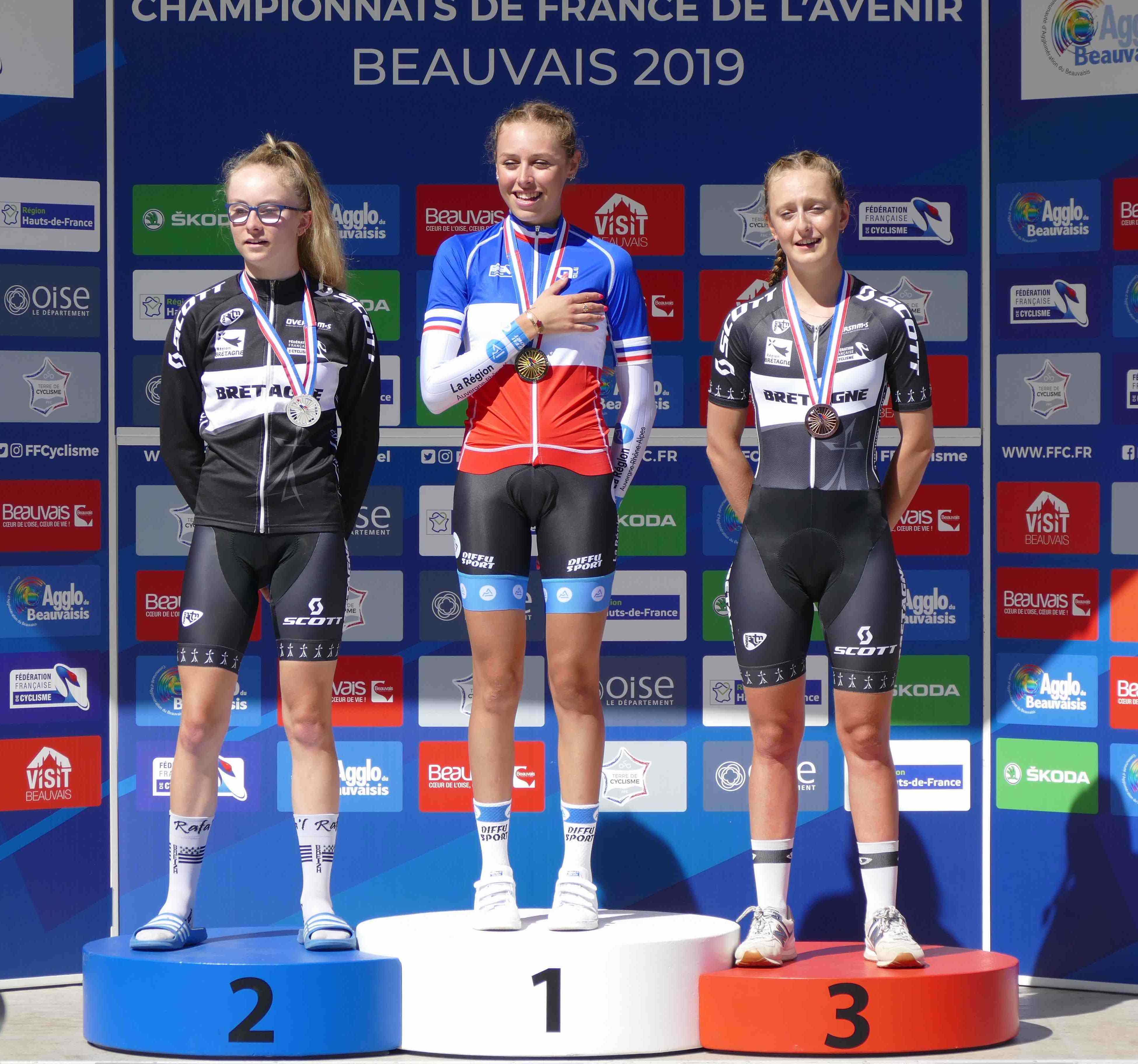 France-2019-Maeva-podium-clm