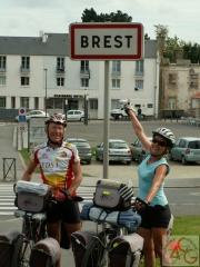 Arrivée Brest