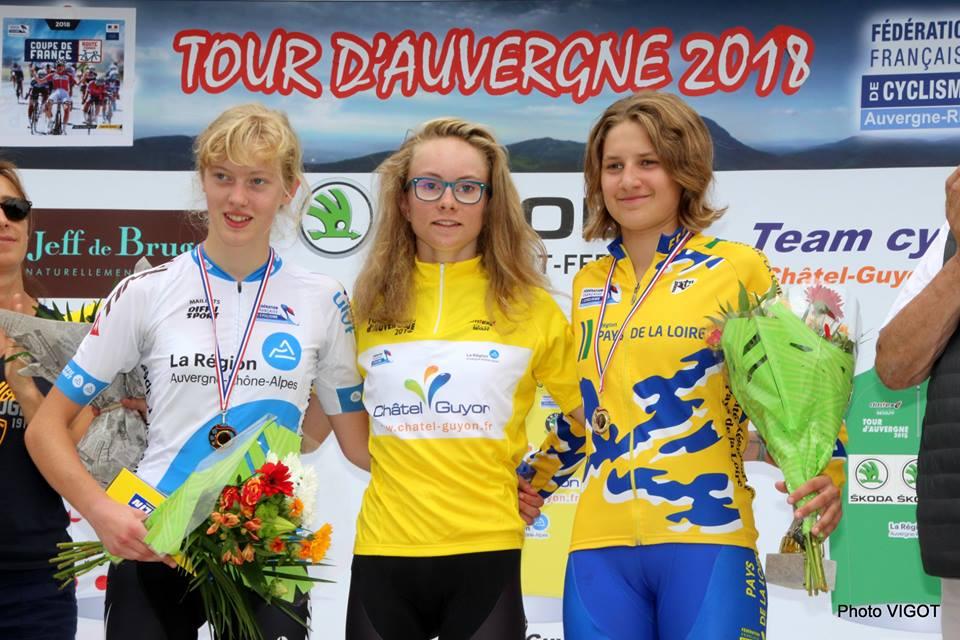 Podium Tour d'Auvergne 2018(Photo Vigot)