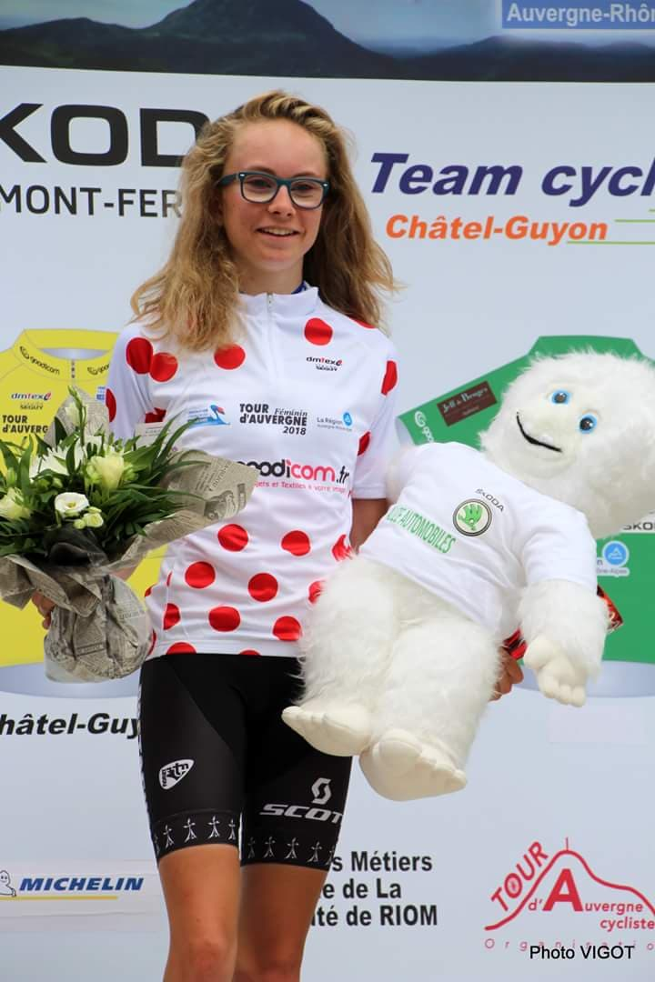 Tour d'Auvergne 2018 3 Maeva (Photo Vigot)