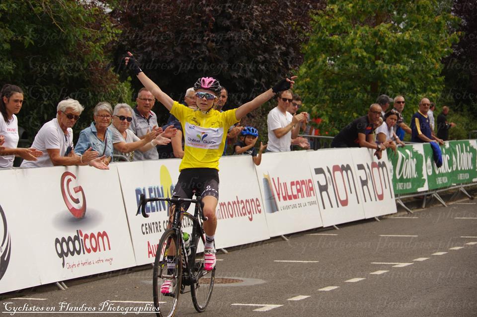 Tour d'Auvergne 2018 Maeva (Photo Cyclisme en Flandre Photographies)
