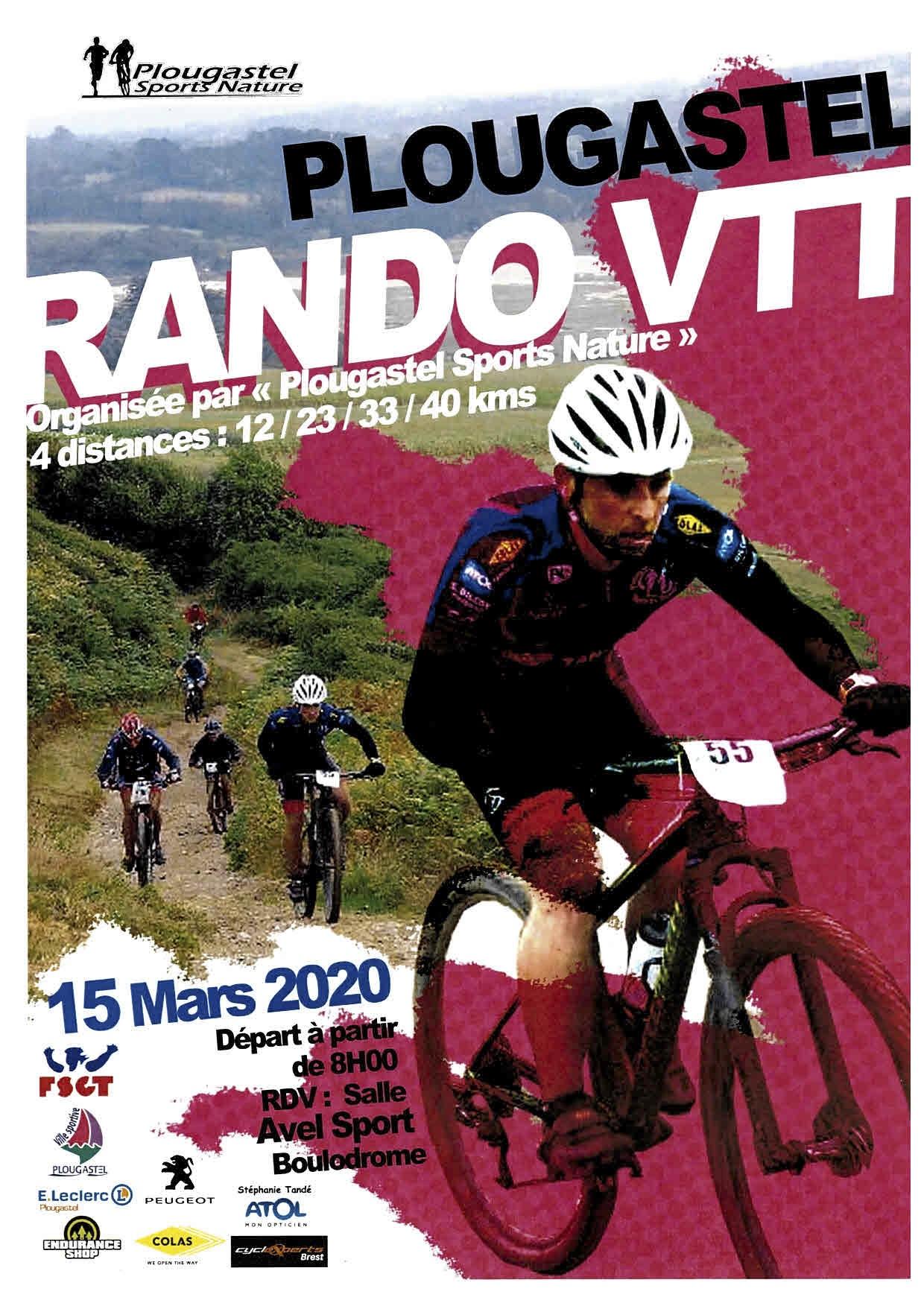 Rando VTT à Plougastel