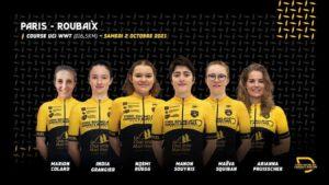 1er Paris-Roubaix féminin avec Maeva SQUIBAN (à suivre sur France 3 à partir de 15h15 et Intersport à 14h30)