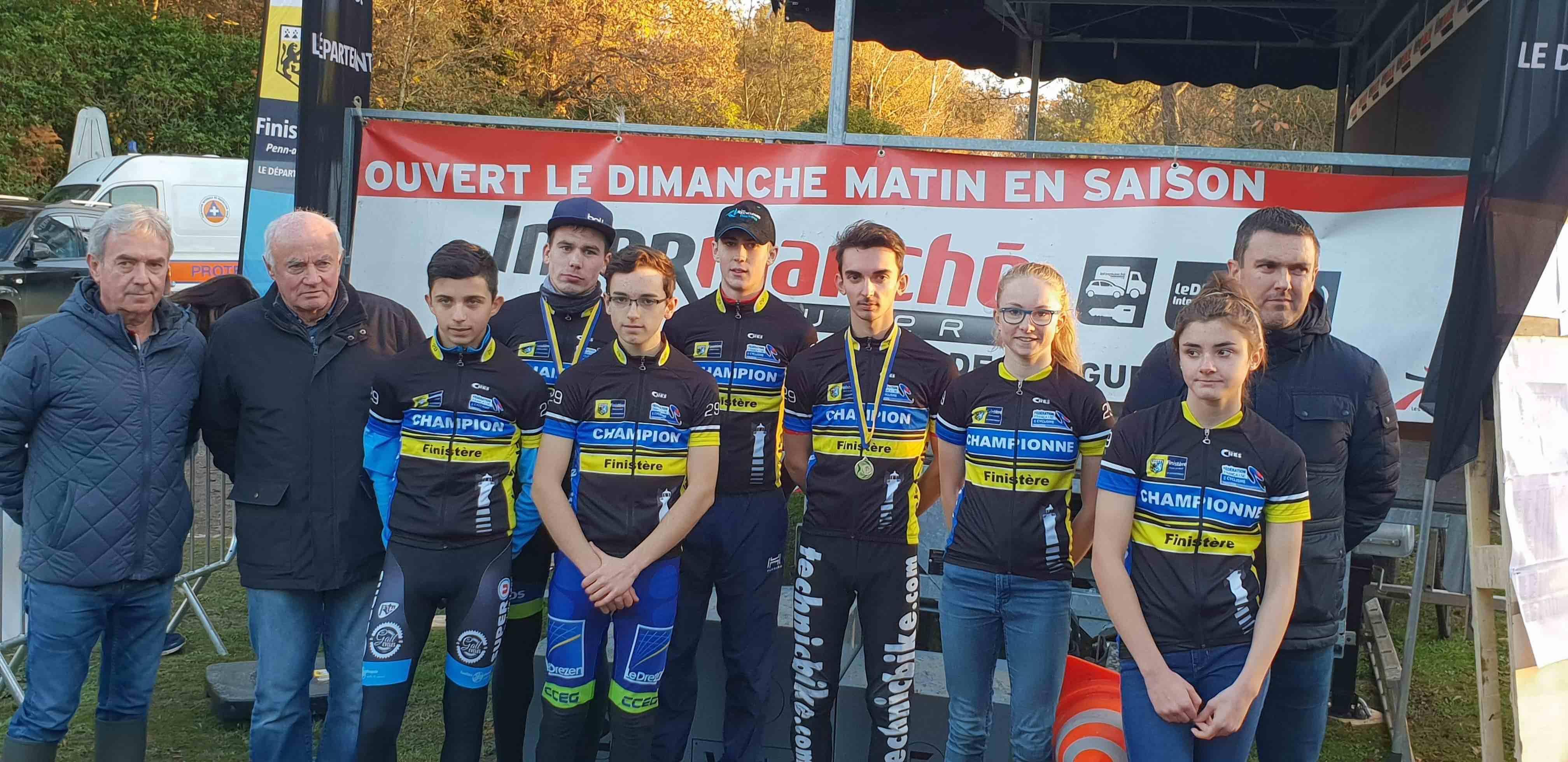 CX Riec Sur Belon Podium Finistère